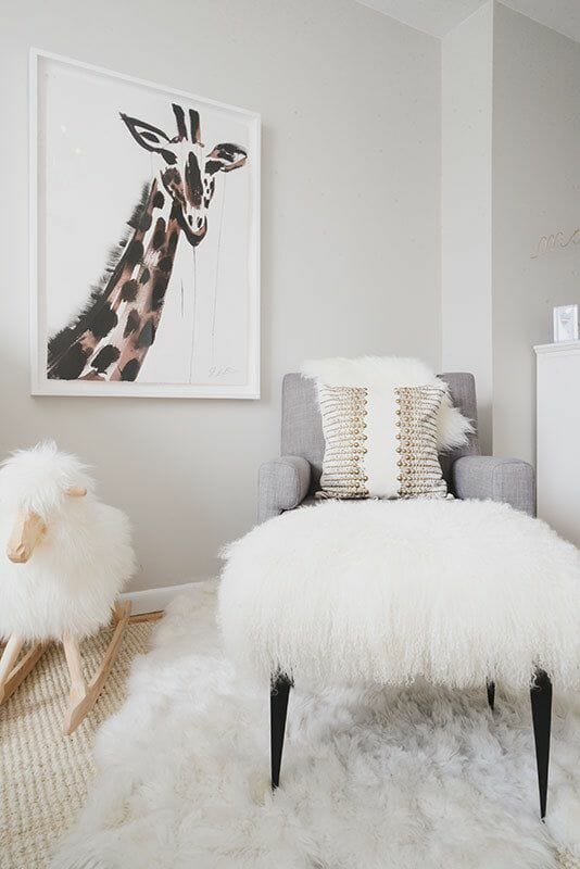 Softness Abounds In These Kid Room Designs, Creating A Delicate And Light  Look. Faux Fur In Varied Forms Call Forth Scandinavian ...