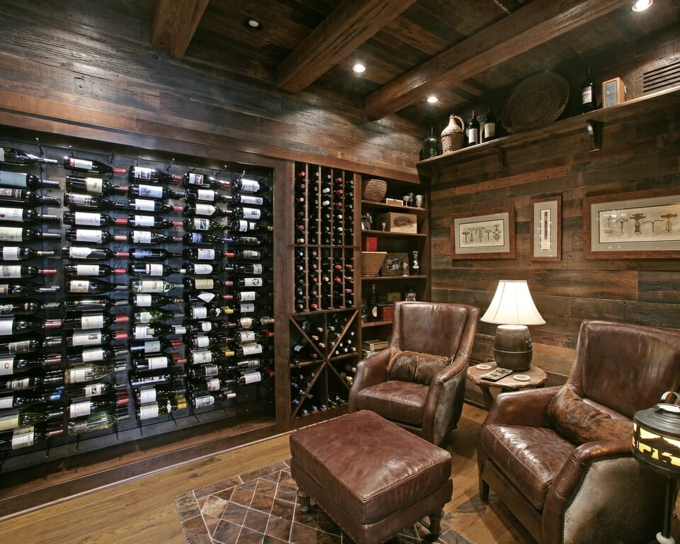 Small room decorating 4 great spare room ideas decorilla Wine shop decoration