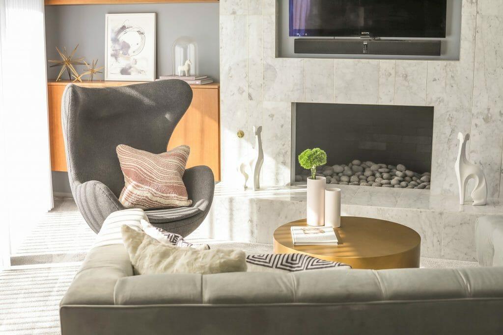 interior design cost - mid century modern