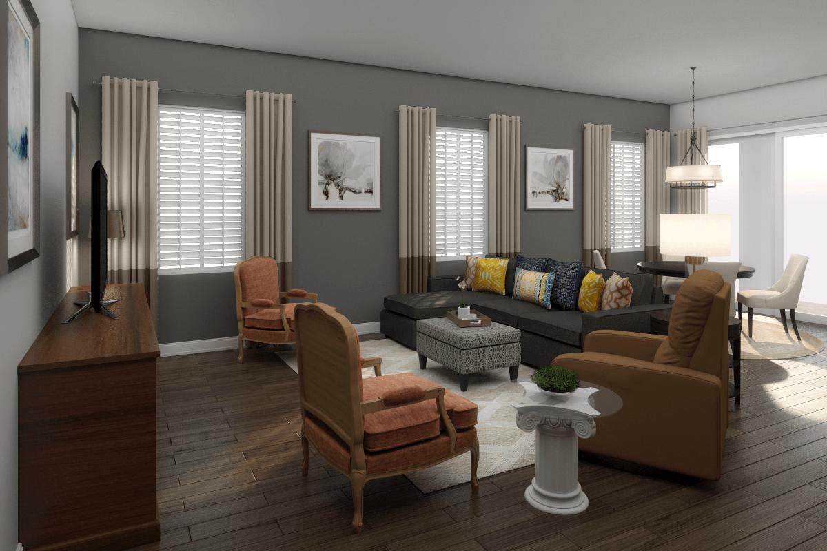 Online Interior Design Service Living Room Decorilla