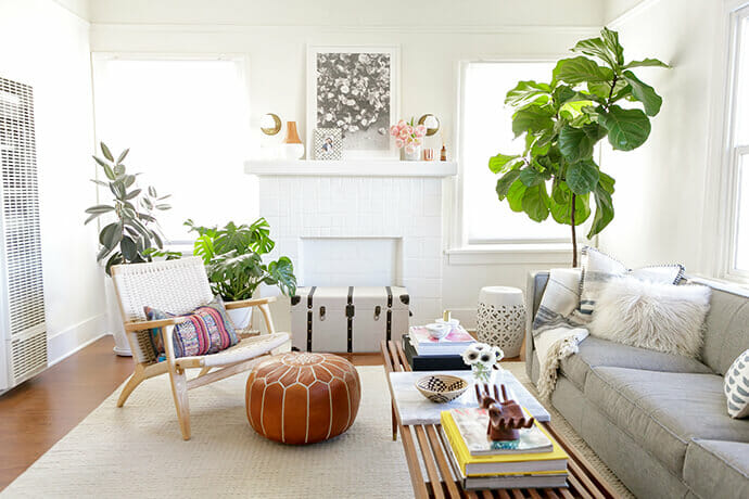summer interior design trends boho chic