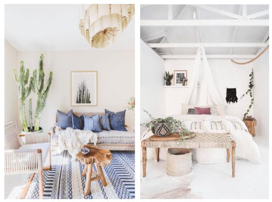 summer interior design trends boho style