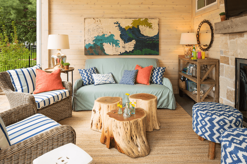 summer interior design trends rustic beach decor