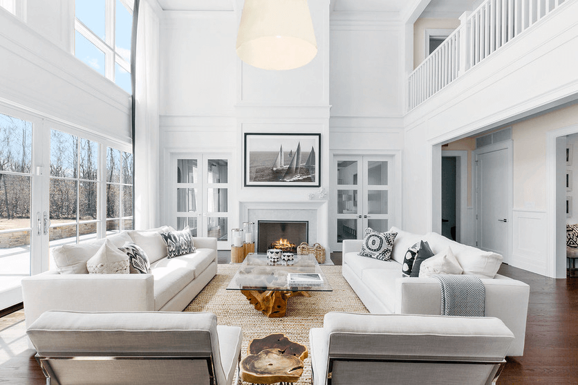 summer interior design trends bright and light living room