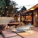 top backyard lighting trends cafe lighting