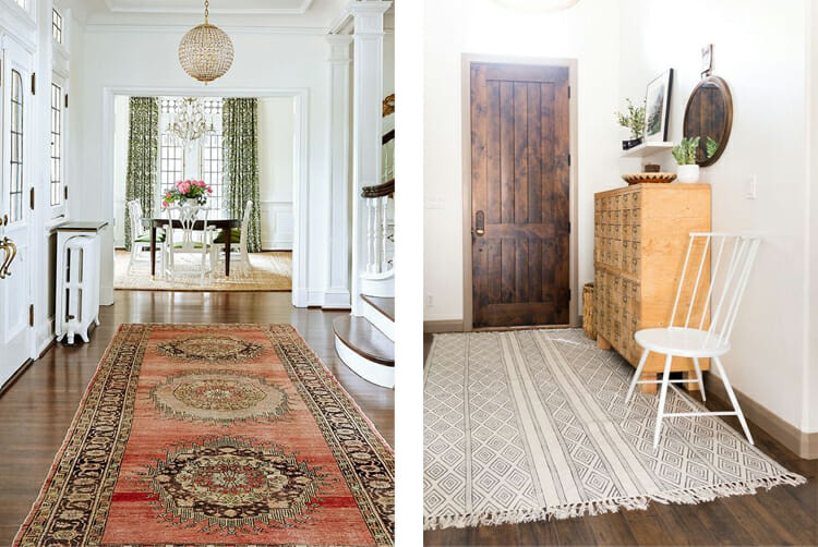 Entryway decorations -Rugs