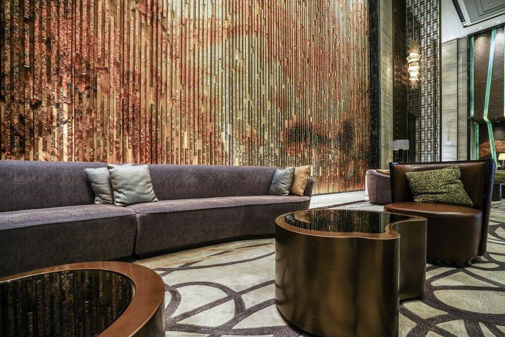Online Interior Designer Spotlight Amelia Rozas- lobby lounge