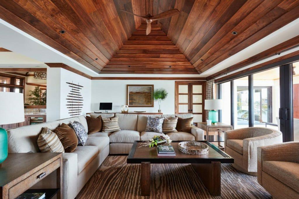 fall interior design trends velvet pillows