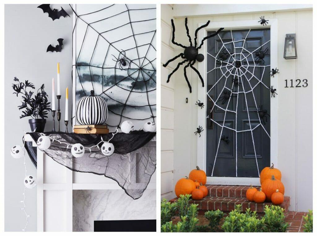 halloween decor trends spider web