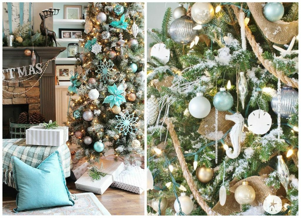 Christmas Tree decor for Every Design Style beach tree