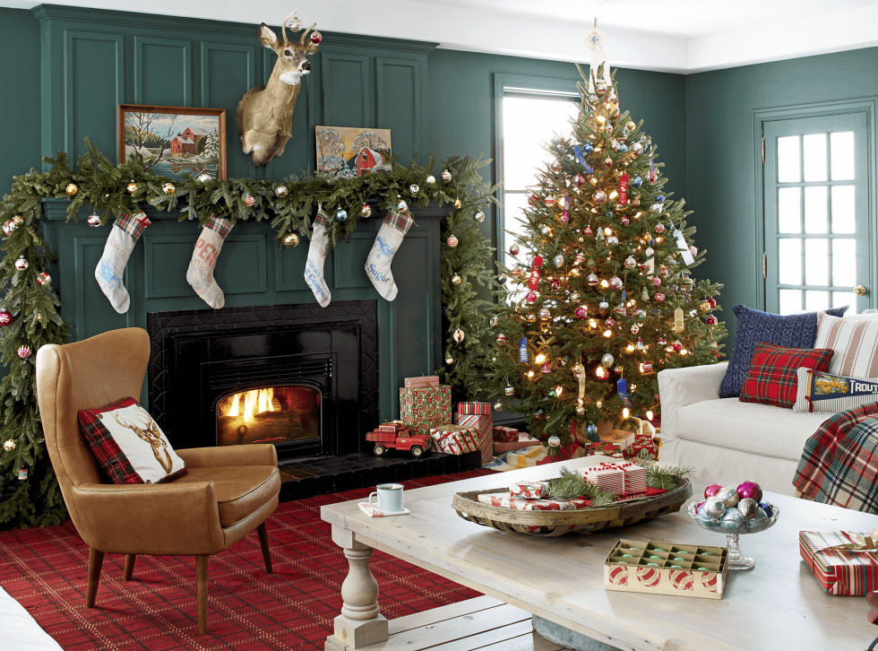 decorating living room for christmas. Christmas Tree decor for Every Design Style Decorilla
