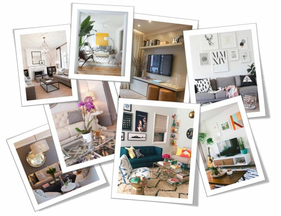 Online interior design-Before-after_living room design