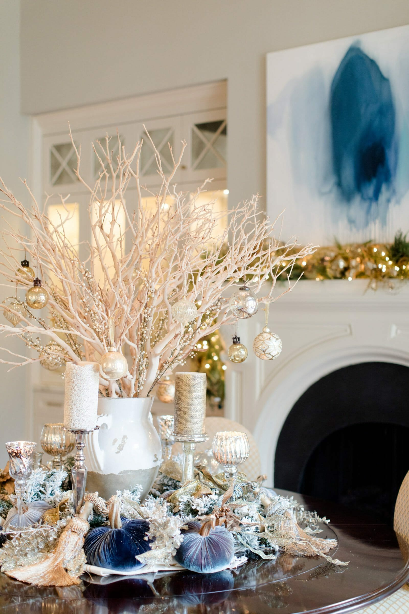 How to add winter decor to a coastal design decorilla - Affordable interior design seattle ...