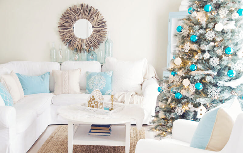 How To Add Winter Decor To A Coastal Design Decorilla