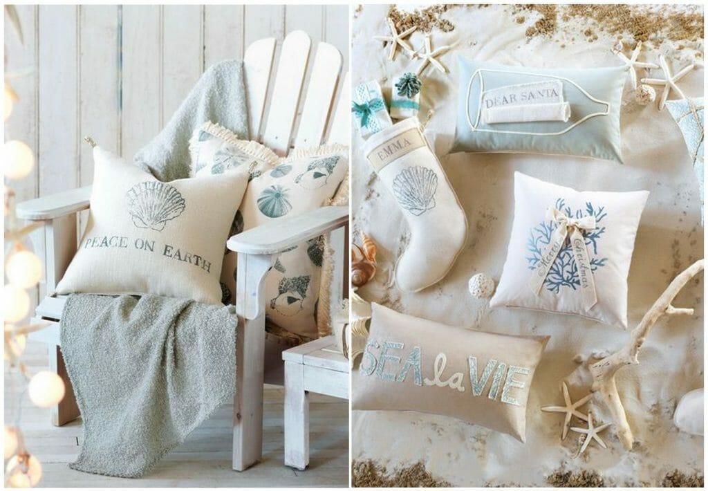 Winter Coastal Decor Cozy Knits