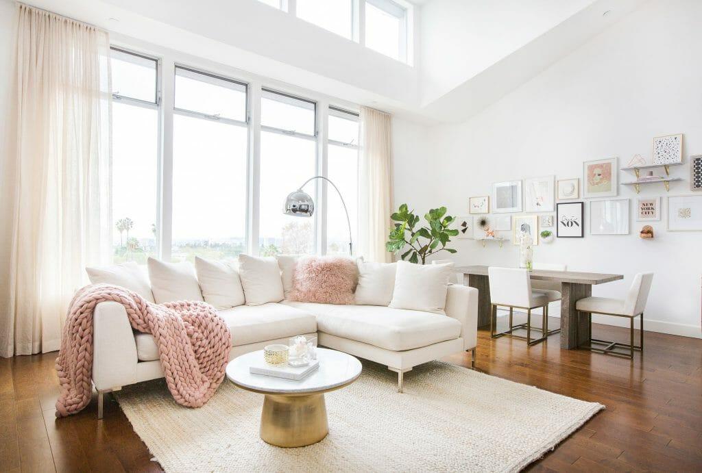 winter design trends millennial pink accessories