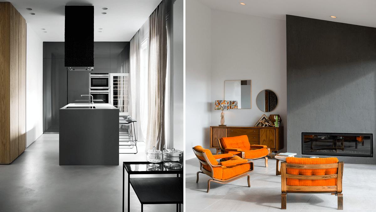 sustainable interior design with minimal furniture