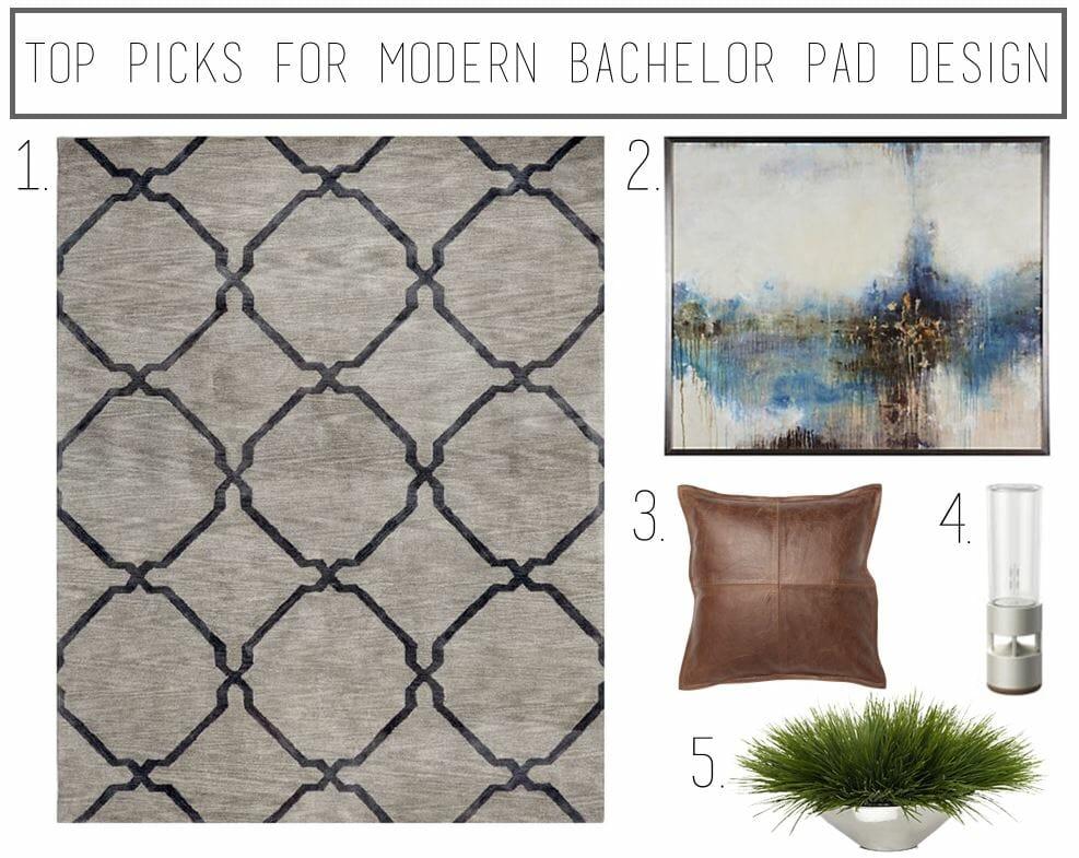 top picks for moder bachelor pad design