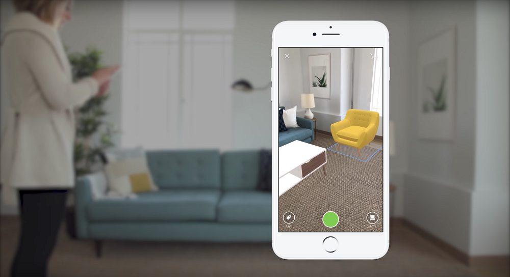 Houzz online interior designer AR service