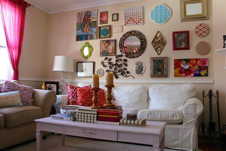 gallery wall layout