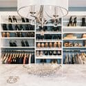 walk-in closet design California closets