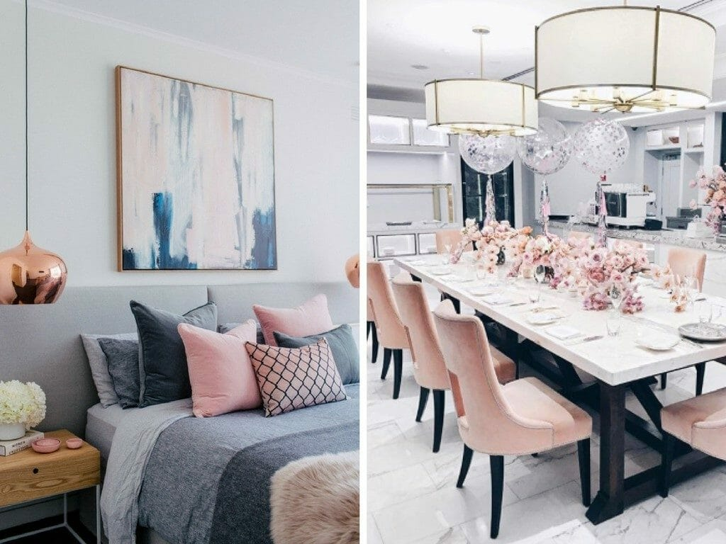 How to Incorporate Pink Decor into your home accessories