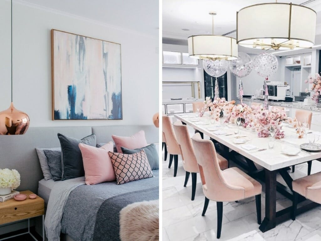 How to Incorporate Pink Decor into your home accessories - Decorilla