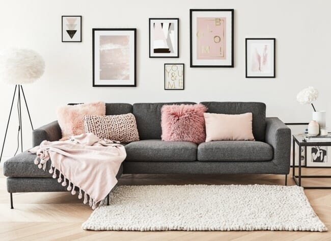 How to Incorporate Pink Decor into your home layers