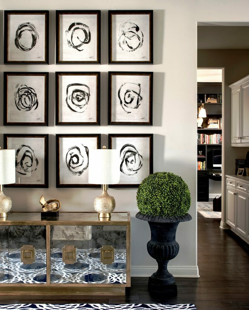 How To Create The Perfect Gallery Wall Layout
