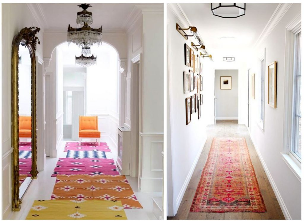 hallway decorating ideas runners