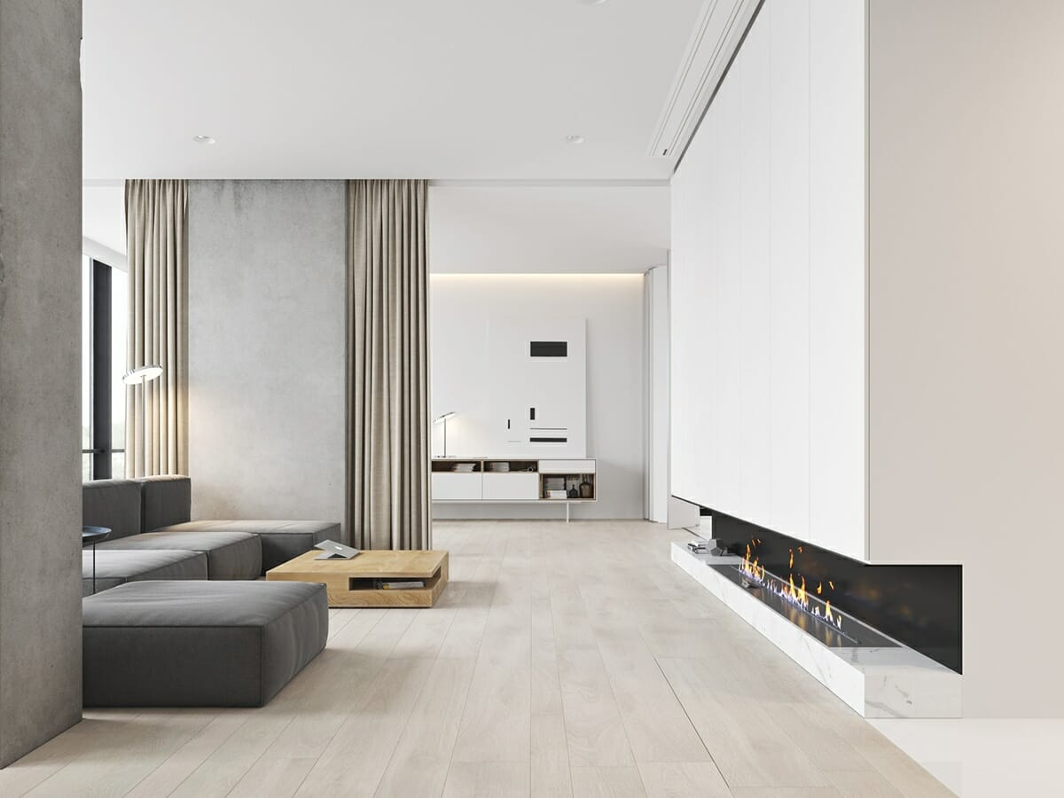 7 best tips for creating stunning minimalist interior - Minimalist living room ideas ...