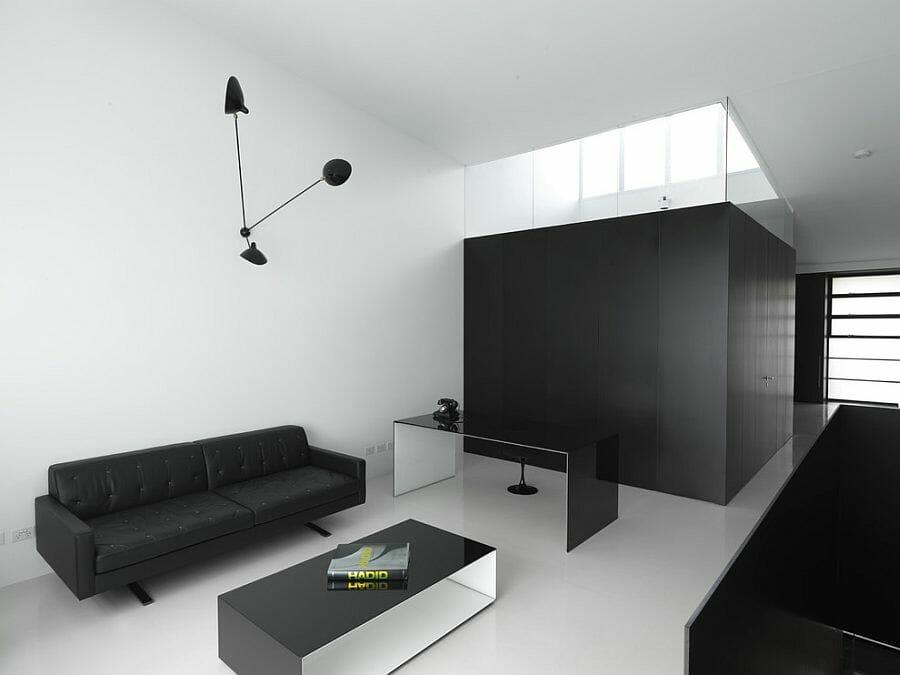 Marvelous Black And White Living Room Decor Minimal