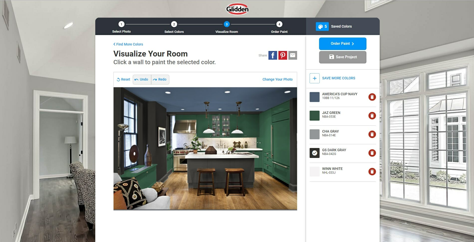 online decorating tools visualize color