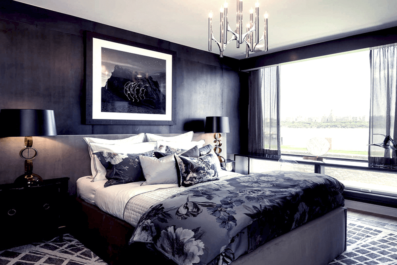 hire an interior designer luxury bedroom