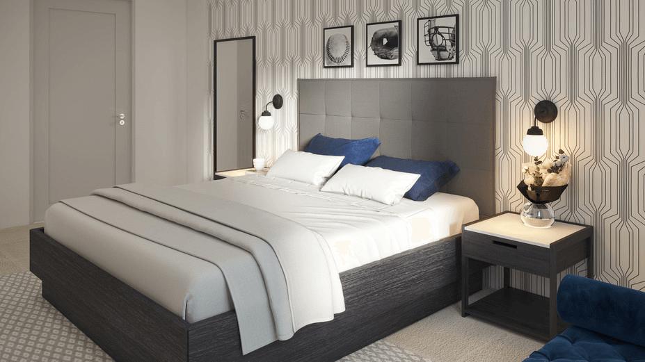 online bedroom design 3d model 2