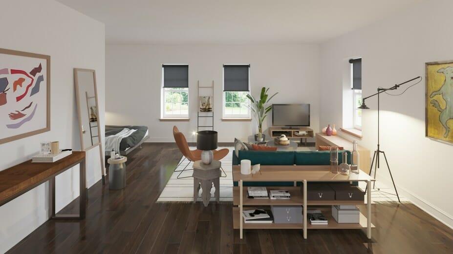 online studio design eclectic interior design living room