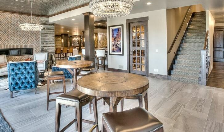 Top Denver Interior Designers Aneka Interiors Basement Lounge