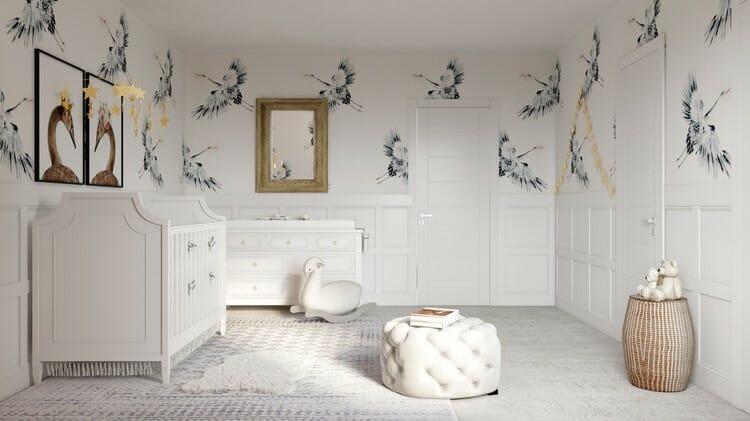 18.fall_interior_design_trends_wallapaper_moden