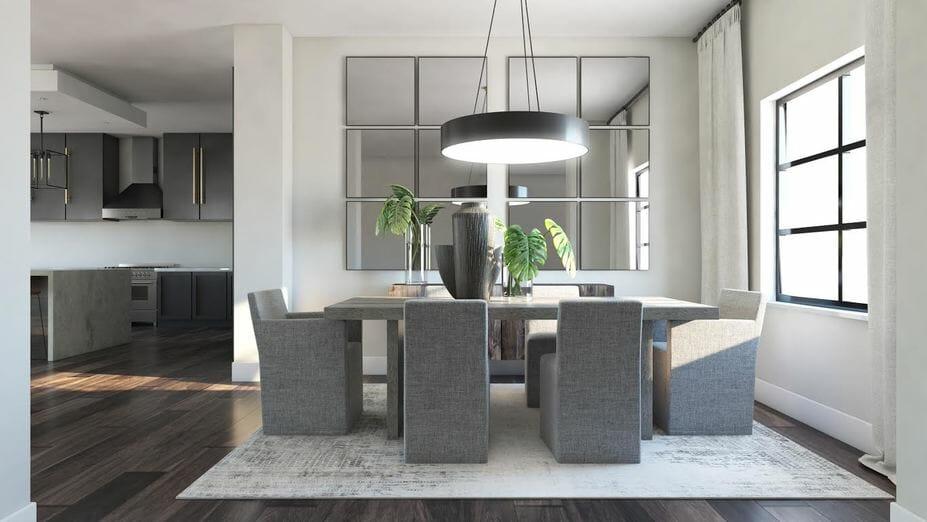 contemporary home design online diningroom