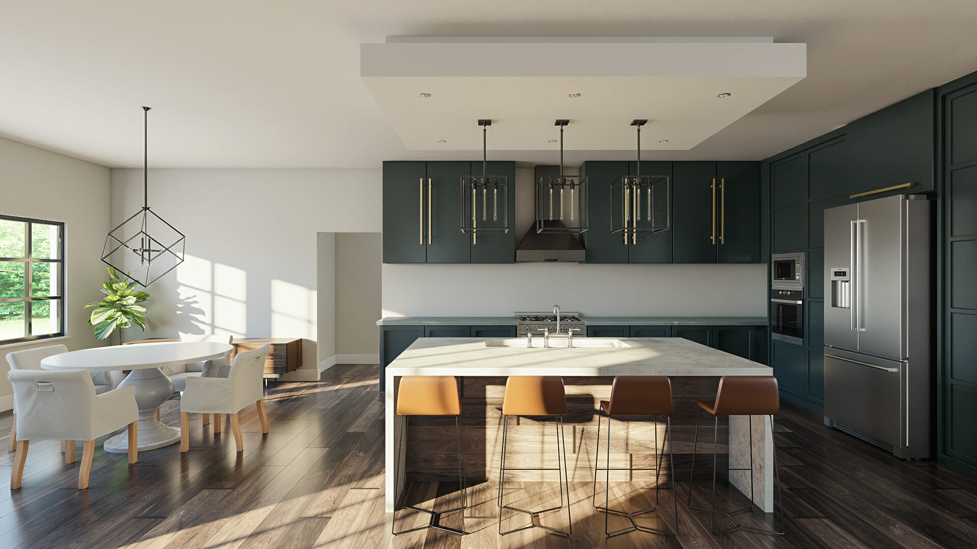 contemporary home design online kitchen and dining