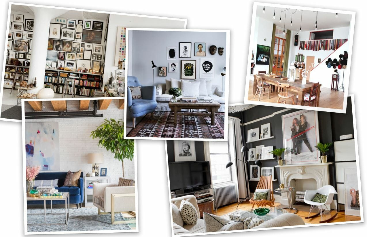 eclectic studio apartment design online inspiration