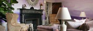 watercolors fall interior design trends