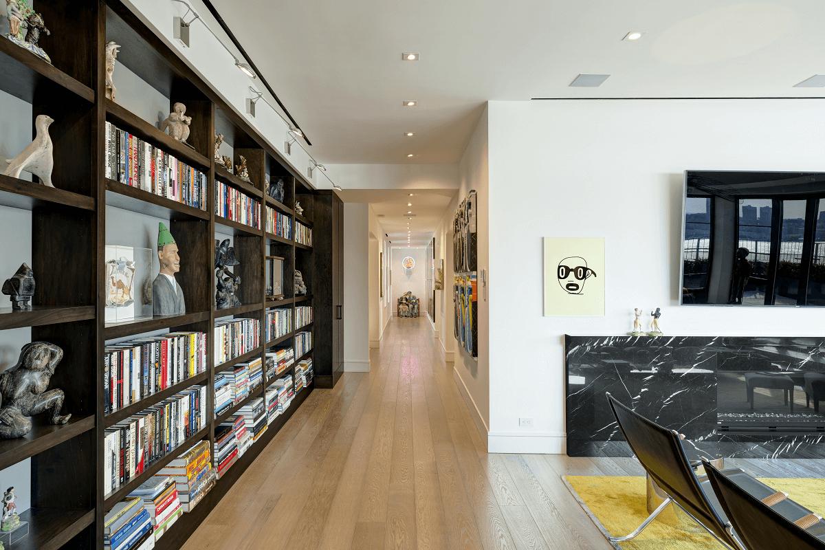 colorful hallway interior design