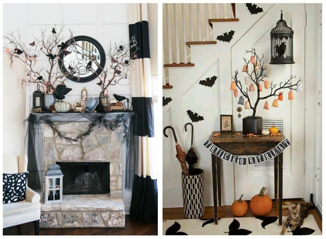 modern halloween decorations halloween tree