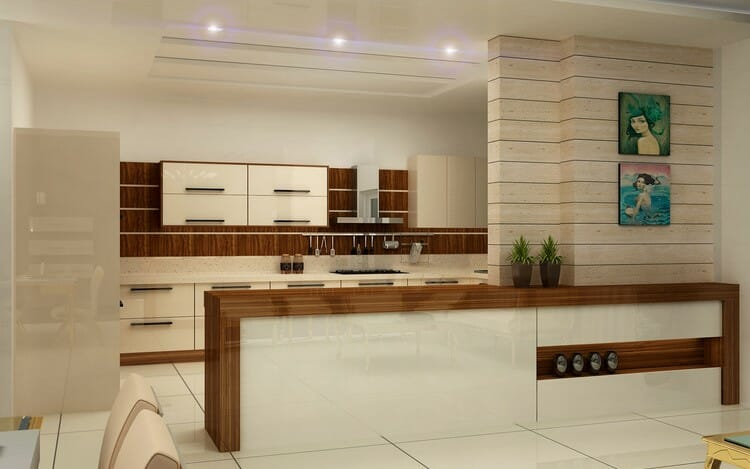 modern home interior design modern kitchen