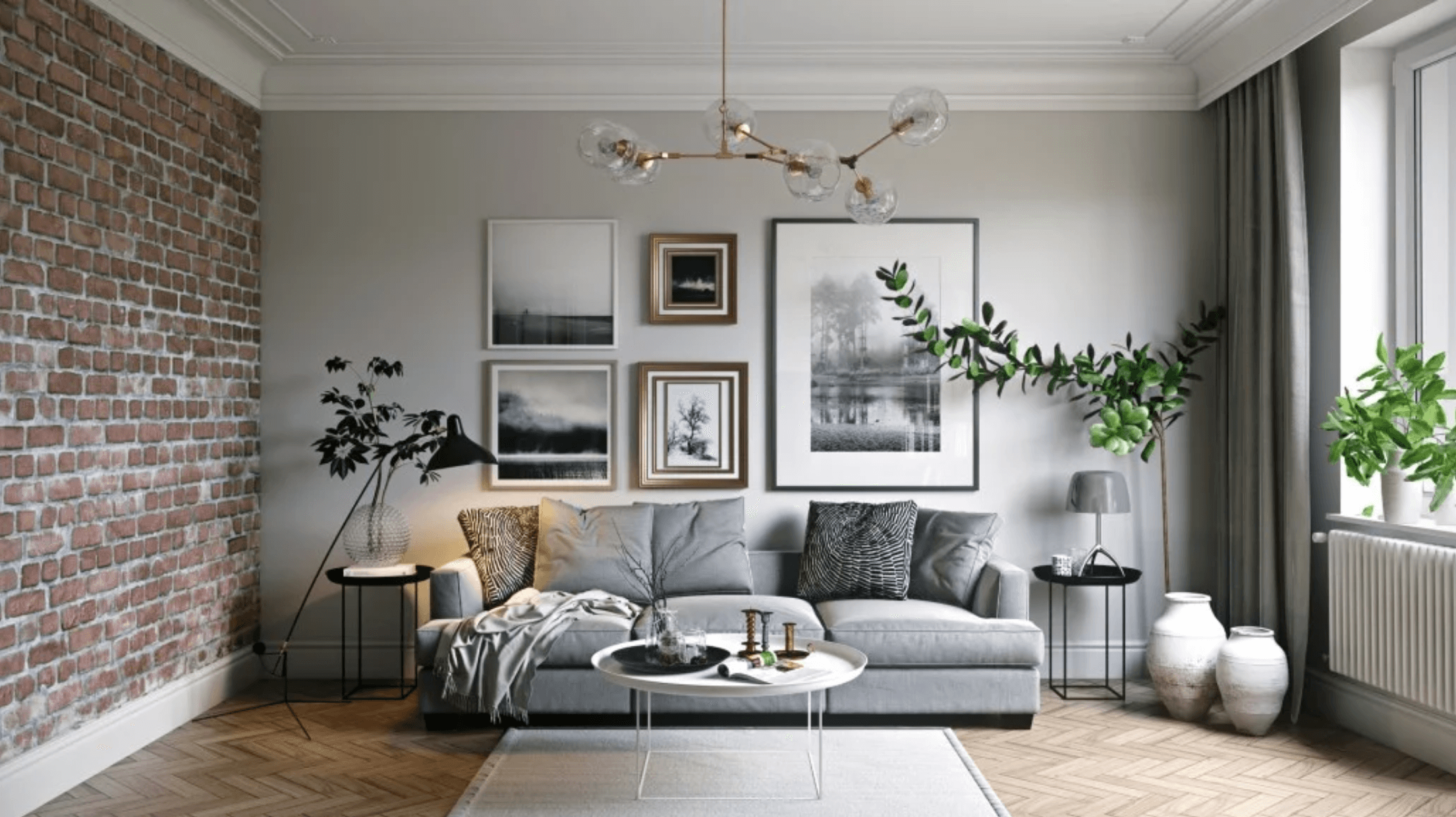 Modern Interior Design Grey Living Room2