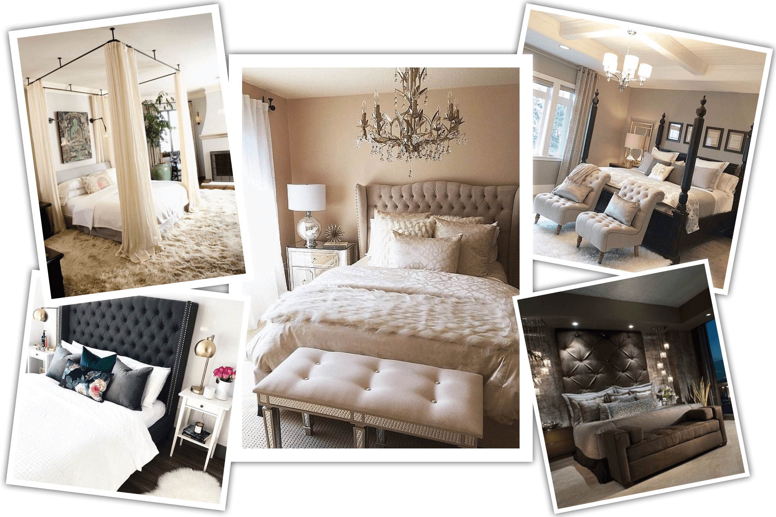 romantic bedroom online design by Decorilla designer Miaden C. - inspiration