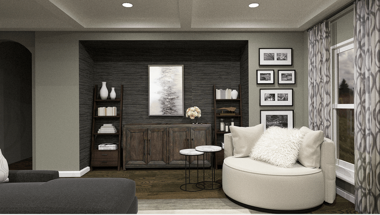 dallas interior designers - taron h - living room and sitting area design