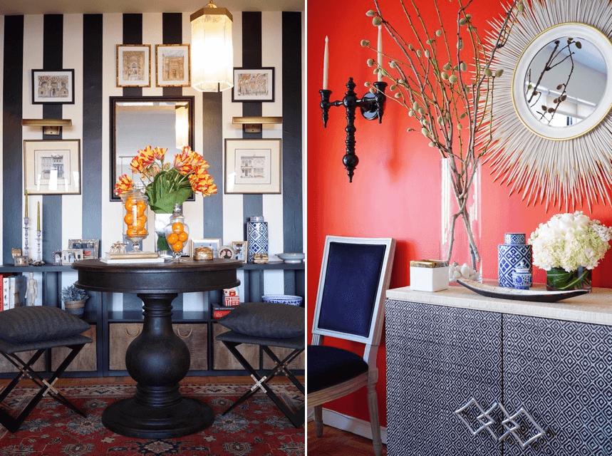 traditional interior design accents