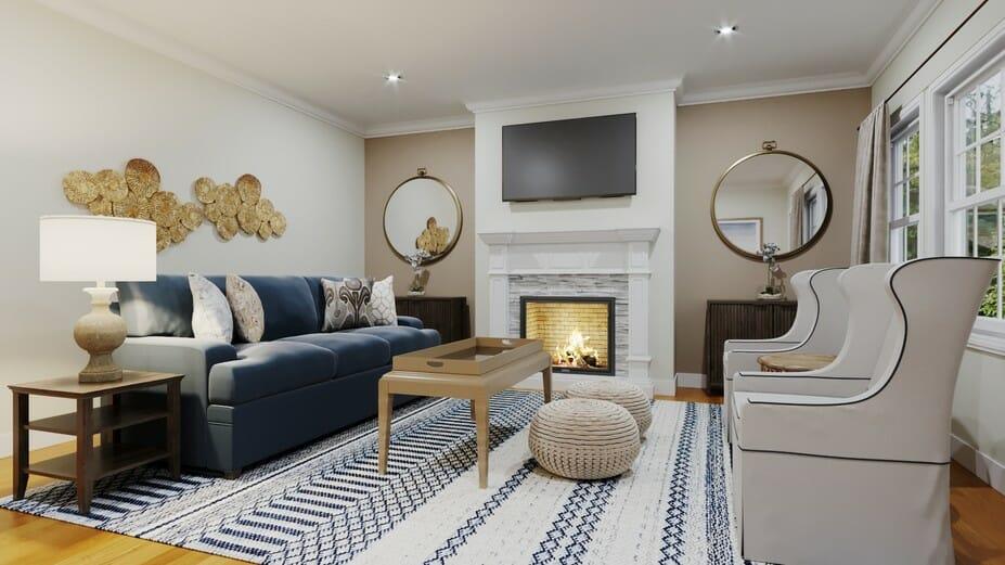 transitional online living room design_1